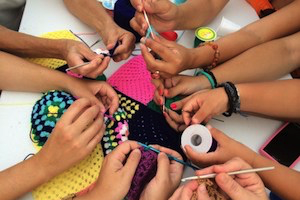get involved link - 7 people crochet